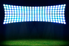 Abstract football or soccer background Stock Photo