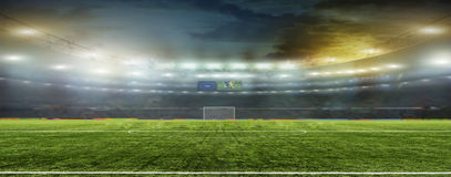 Abstract football or soccer backgrounds Royalty Free Stock Images