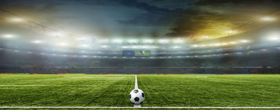 Abstract football or soccer backgrounds Royalty Free Stock Photography