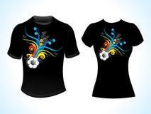Abstract football tshirt template Stock Image