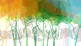 Abstract forest background Royalty Free Stock Photos