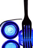 Abstract Fork stock photo