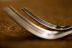 Abstract forks Royalty Free Stock Photos