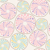 Abstract forms background. Seamless pattern with colorful abstract forms Stock Photos