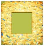 Abstract fotoframe Stock Afbeeldingen