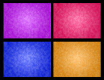 Abstract four color backgrond. Abstract purple pink blue and orange background Royalty Free Stock Images
