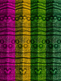 Abstract Four Colors Pole Texture Stock Images