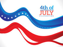 Abstract fourth of july background Royalty Free Stock Image