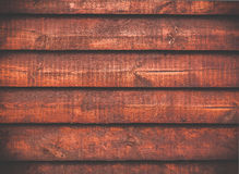 Abstract foxy red wooden background Royalty Free Stock Photo