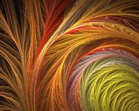 Abstract fractal. Beautiful hi res fractal background in vivid colors Stock Photo