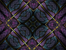 Abstract fractal artwork Royalty Free Stock Image