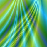Abstract fractal background. Crossing lines with dominating green colour Royalty Free Stock Photos