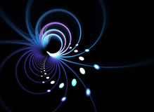 Abstract Fractal Background royalty free illustration