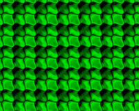 Abstract Fractal Background. Green overlapping scales abstract fractal background design Royalty Free Stock Image