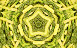 Abstract fractal background: asparagus Stock Images