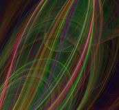 Abstract fractal background black red green blue. Abstract fractal background black red green blue Stock Photo