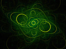 Abstract fractal background Stock Photography