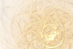 Abstract fractal background of colorful waves. On light background Royalty Free Stock Photos