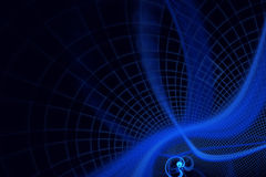 Abstract fractal background. A computer-generated 2D illustration Royalty Free Illustration