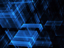 Abstract fractal background. Computer generated abstract tehnology image. Three-dimensional fractal texture Royalty Free Illustration