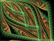 Abstract fractal background for creative design Stock Images
