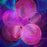 Abstract fractal background for creative design Royalty Free Stock Photography