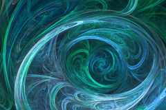 Abstract fractal background. 3D illustartion viewed like winter pattern. For your creative design vector illustration