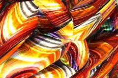 Abstract fractal background Stock Image