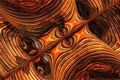 Abstract fractal background. 3d rendering Stock Photos