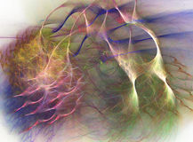 Abstract fractal background Royalty Free Stock Photo