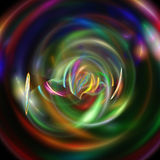 Abstract fractal background Royalty Free Stock Photos