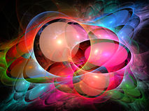 Abstract fractal background Stock Photos