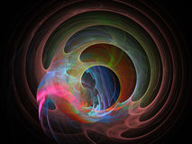 Abstract fractal background Royalty Free Stock Photography