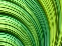 Abstract fractal background with gradient green lines. Abstract fractal background with gradient green spiral lines Royalty Free Stock Photography