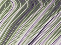 Abstract fractal background with grey and green curved lines. Abstract fractal background with grey and green curved smoothing lines Royalty Free Stock Image