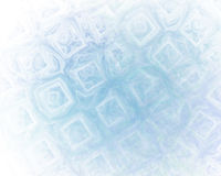 Abstract fractal background with ice cubes texture Stock Image