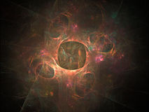 Abstract fractal background. Stock Photography