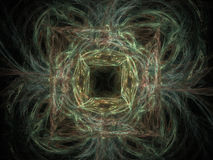 Abstract fractal background. Royalty Free Stock Image