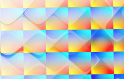 Abstract fractal background, texture. Abstract color dynamic background with lighting effect. Futuristic bright painting texture for creativity graphic design Stock Illustration