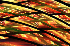 Abstract fractal background, texture. Abstract fractal background a computer-generated 2D illustration, texture Royalty Free Stock Photography