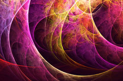 Abstract fractal background, texture. Abstract fractal background a computer-generated 2D illustration, texture Royalty Free Illustration