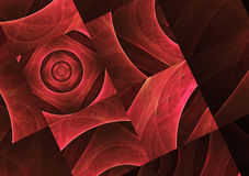 Abstract fractal background, texture. Abstract fractal background a computer-generated illustration, texture Stock Illustration