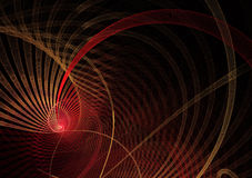 Abstract fractal background, texture, 2D illustration. Abstract fractal background a computer-generated 2D illustration Stock Image