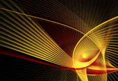 Abstract fractal background, texture, 2D illustration. Abstract fractal background a computer-generated 2D illustration Stock Illustration