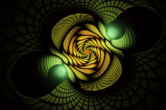 Abstract fractal background, texture, spiral. Abstract fractal background a computer-generated 2D illustration, texture, spiral Royalty Free Illustration