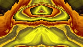 Conflagration, widescreen. Abstract fractal based upon fire in bright fiery colours, in widescreen format royalty free illustration
