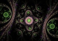 Abstract fractal beeld stock illustratie
