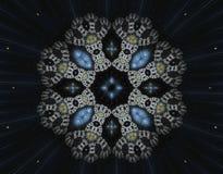 Abstract fractal beeld Royalty-vrije Stock Foto