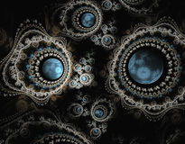 Abstract fractal beeld Stock Foto's