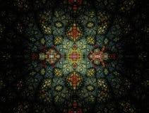 Abstract fractal beeld Stock Fotografie